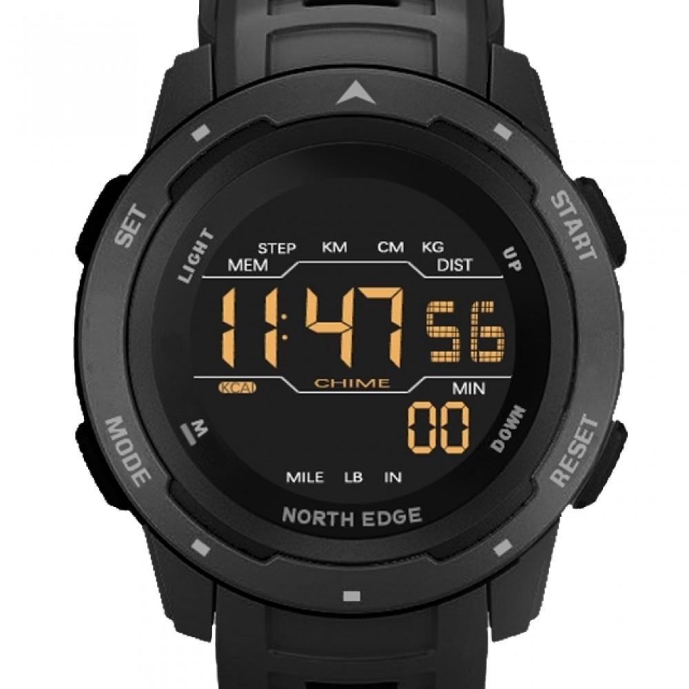 Мужские часы North Edge Saturn Black