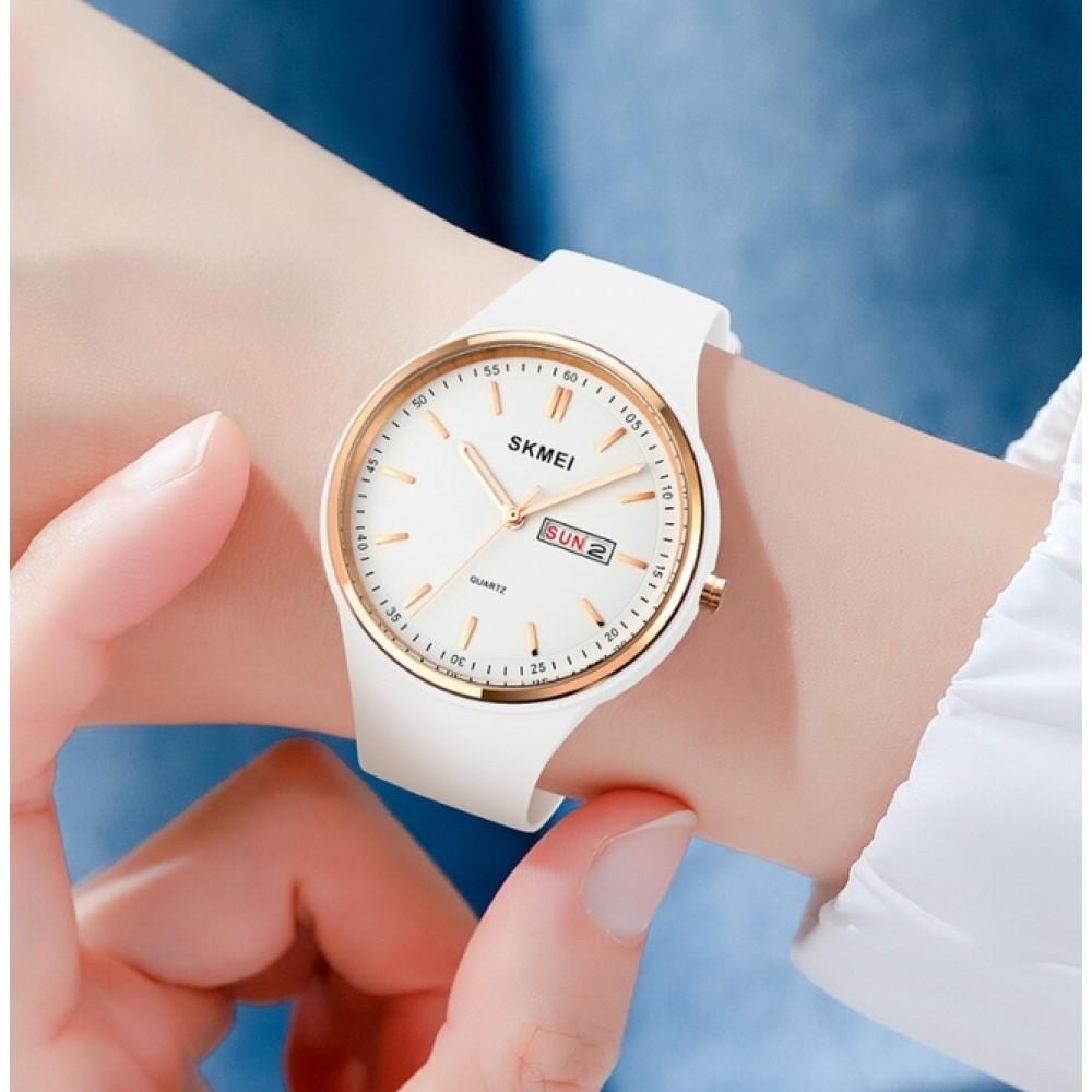 Женские часы Skmei Vivo White
