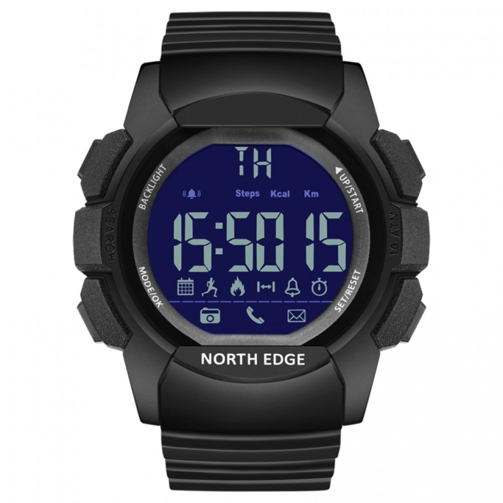 Смарт часы North Edge Combo 10BAR Black