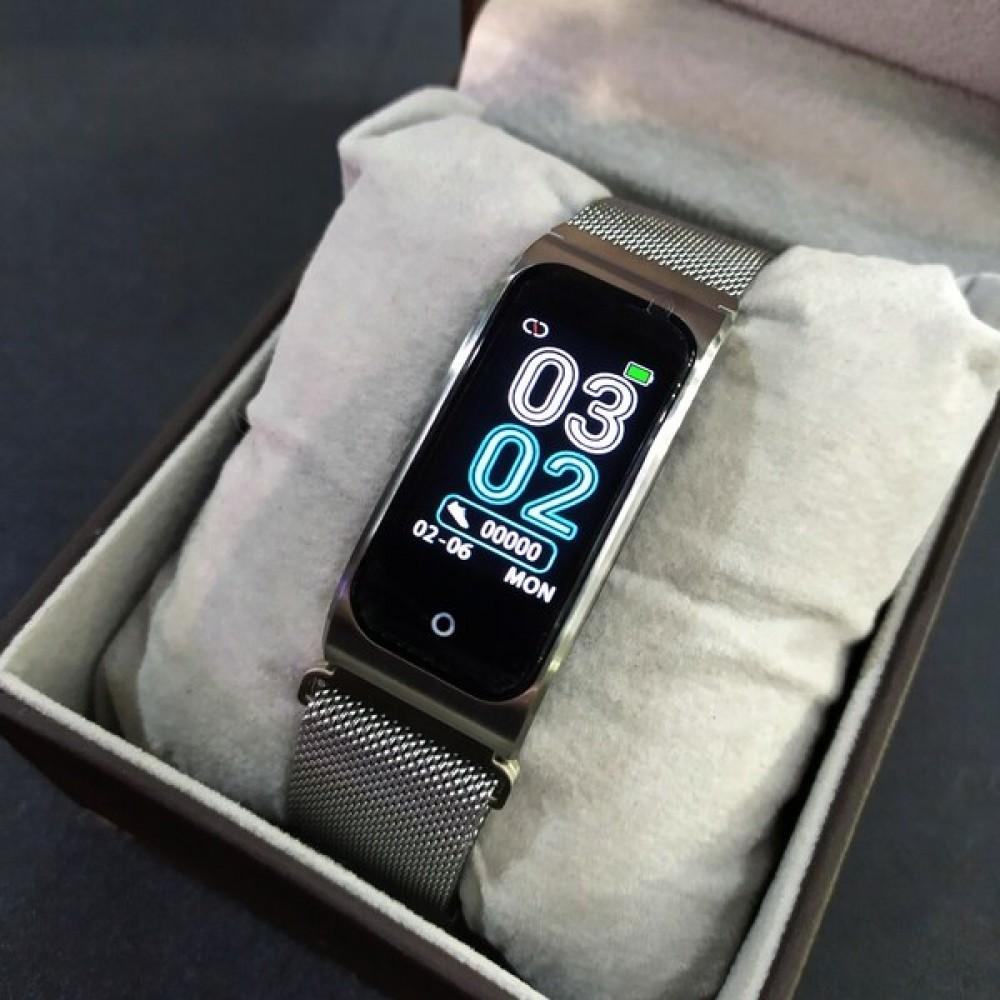 Фитнес-трекер Smart Mioband PRO Silver