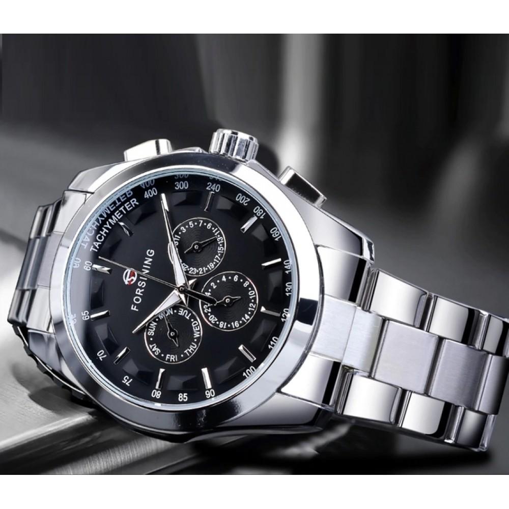 Мужские часы Forsining Walker Steel