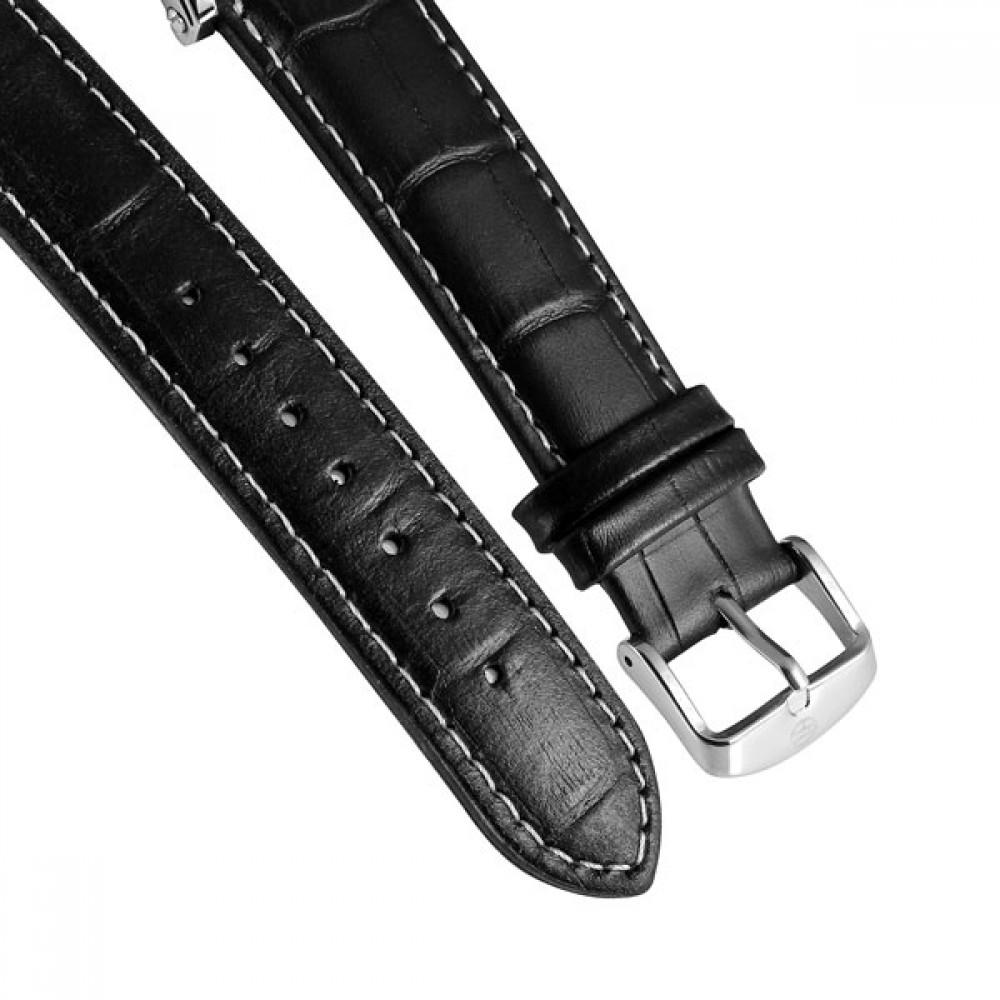 Мужские часы Forsining Air Silver