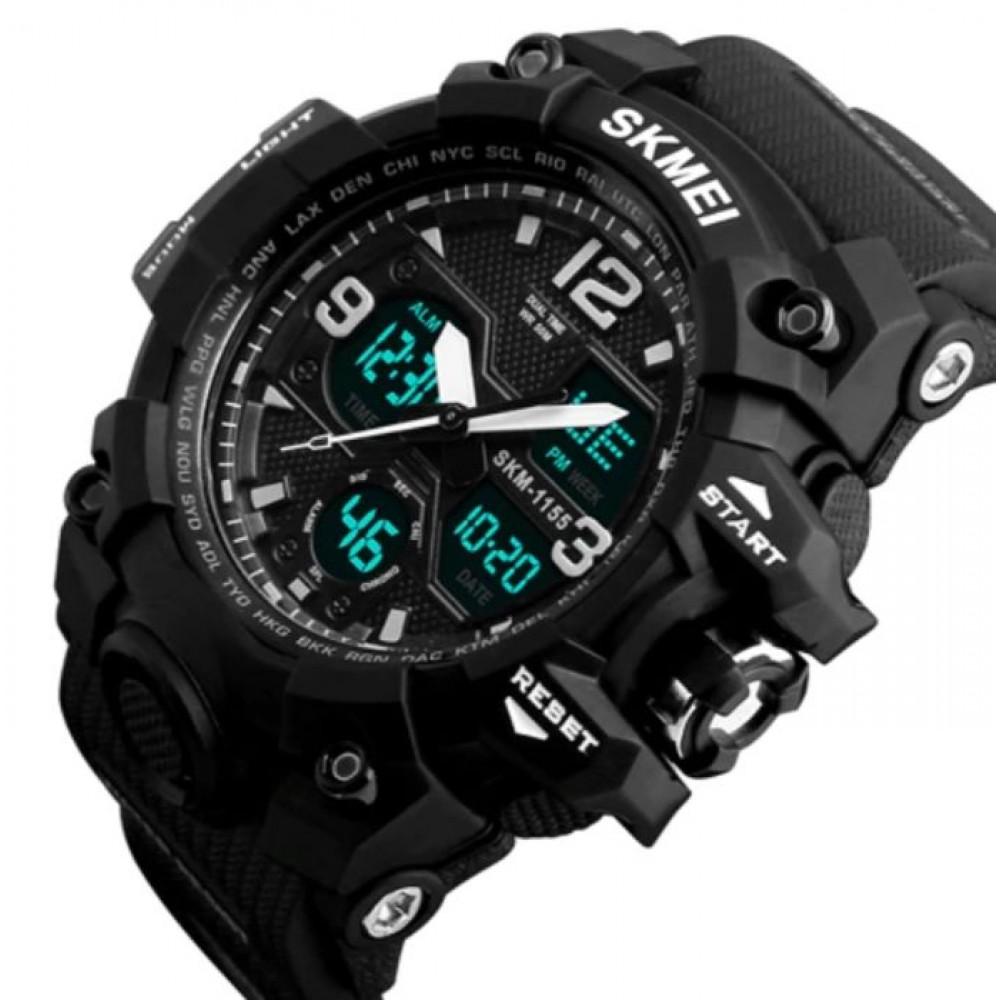 Мужские спортивные водостойкие часы Skmei Hamlet 1155