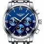 Мужские классические кварцевые часы Guanquin Liberty Blue 8802