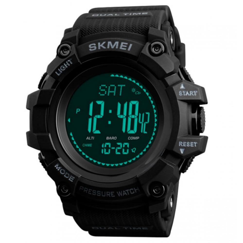 Мужские часы Skmei Processor с шагомером и барометром