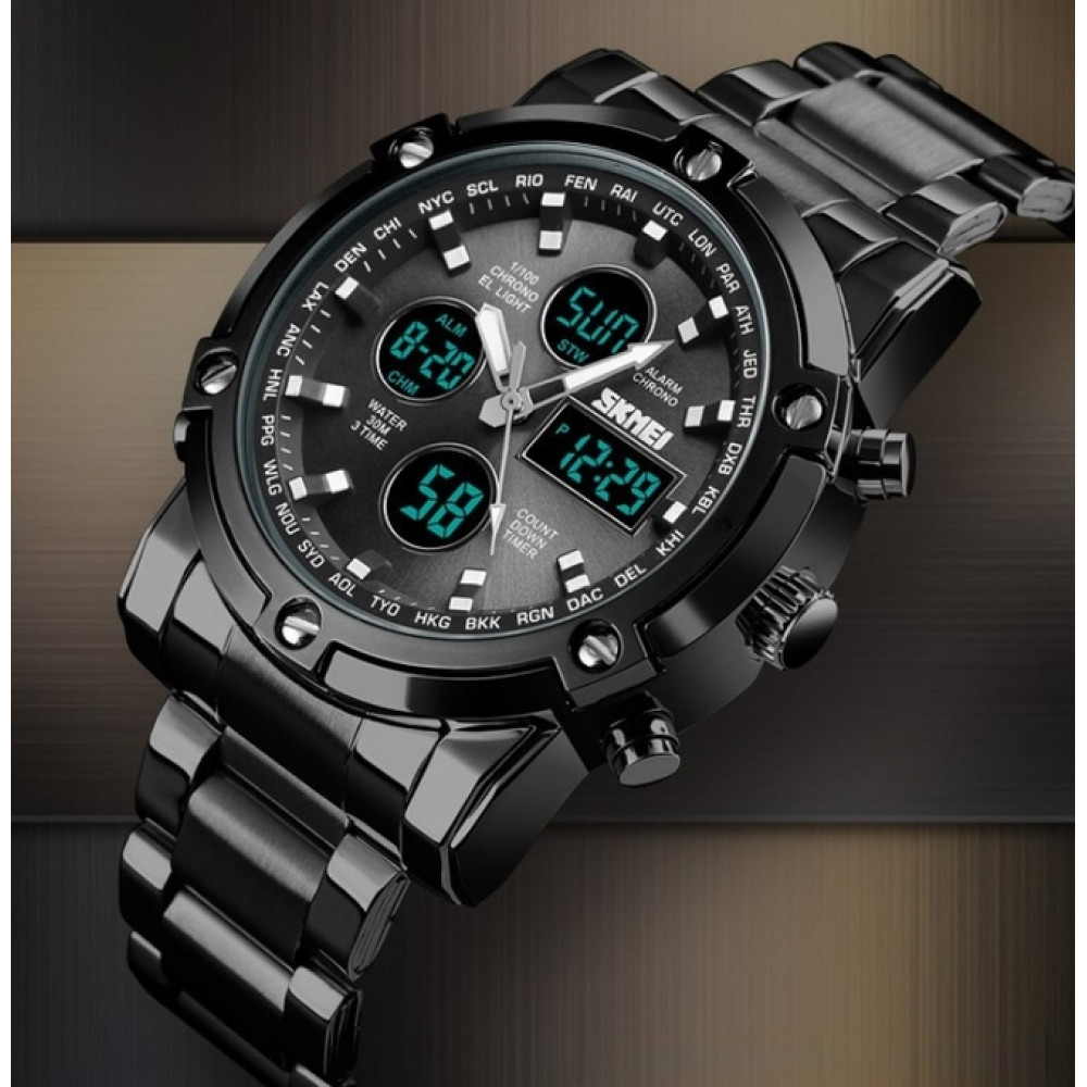 Мужские часы Skmei Molot Limited AllBlack