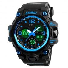 Мужские спортивные кварцевые часы Skmei Hamlet Blue 1155B