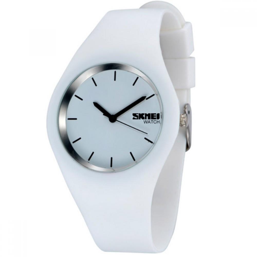 Детские часы Skmei Rubber White 9068C