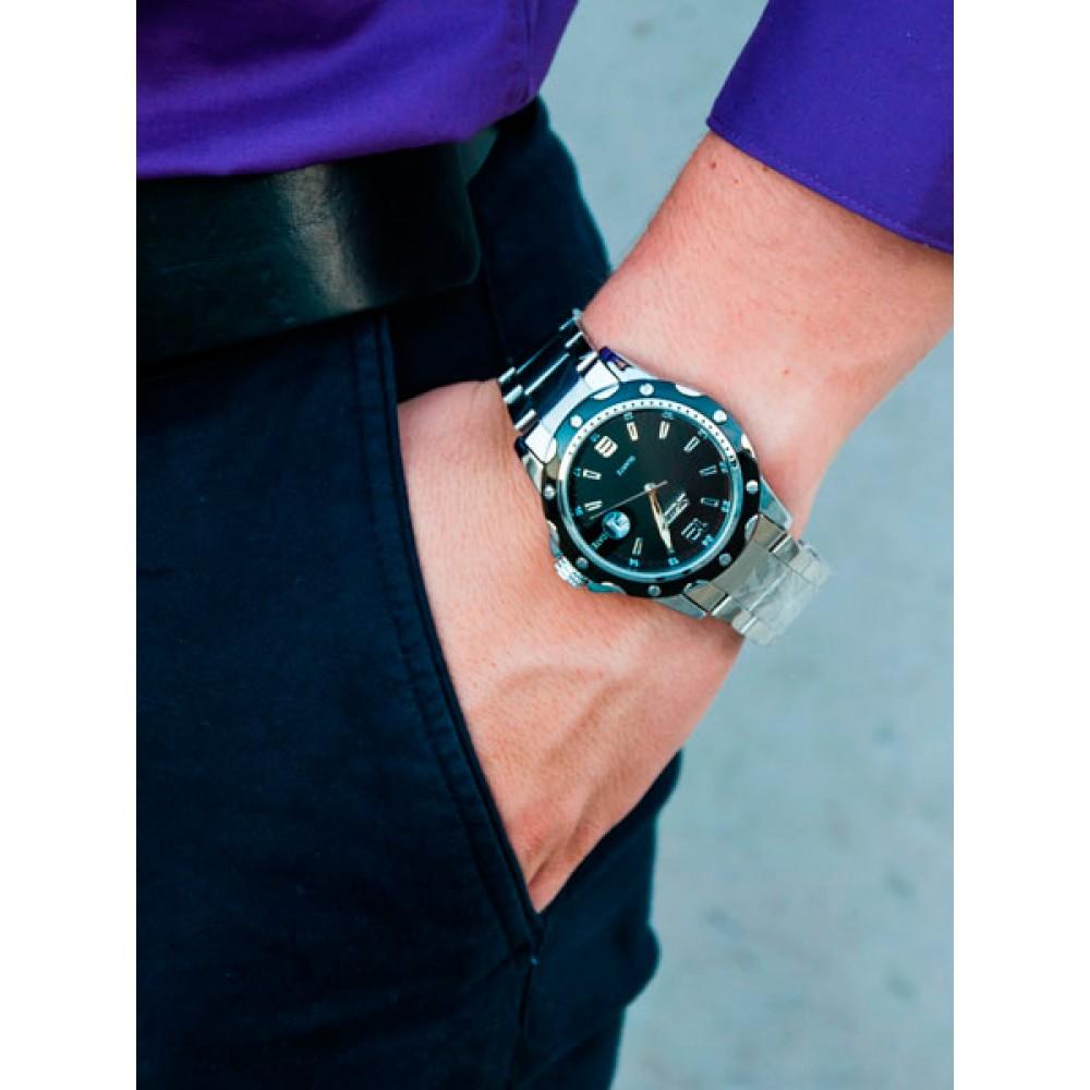 Мужские часы Skmei Robby Steel 0992S