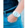 Женские часы Skmei Rubber White II 9068C