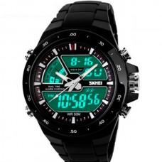 Спортивные мужские наручные часы Skmei Black 1016