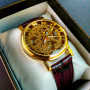 Женские часы Winner Gold  Brown