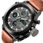 Мужские спортивные кварцевые часы AMST Mountain Brown 1233