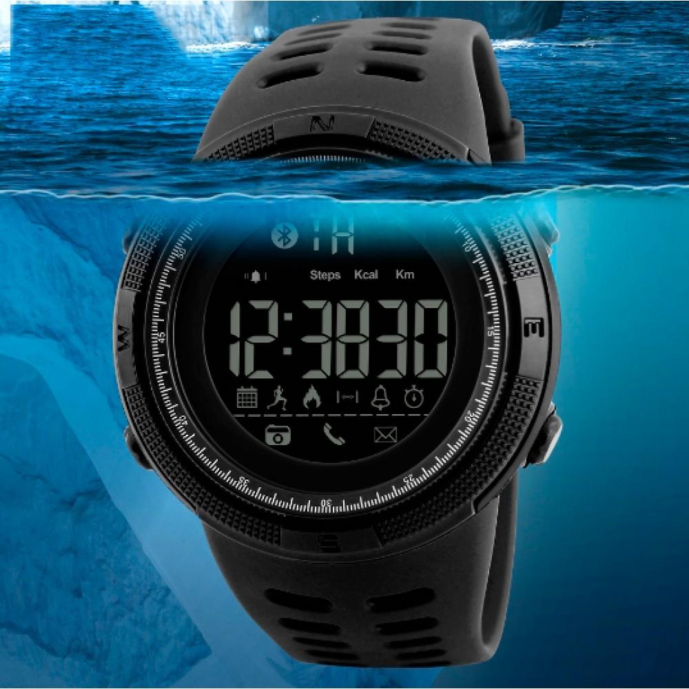 Умные часы Смарт часы Smart Skmei Clever 1250 Black