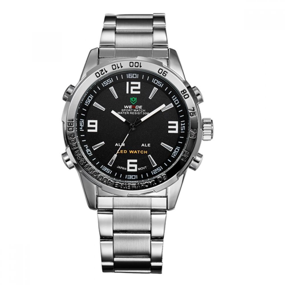 Мужские часы Weide Standart Silver