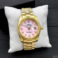 Rolex Date Just 067 Pearl Gold-Pink