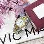 Rolex Date Just Silver-Gold-White Pearl