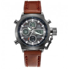 AMST 3003A Black-Brown Wristband