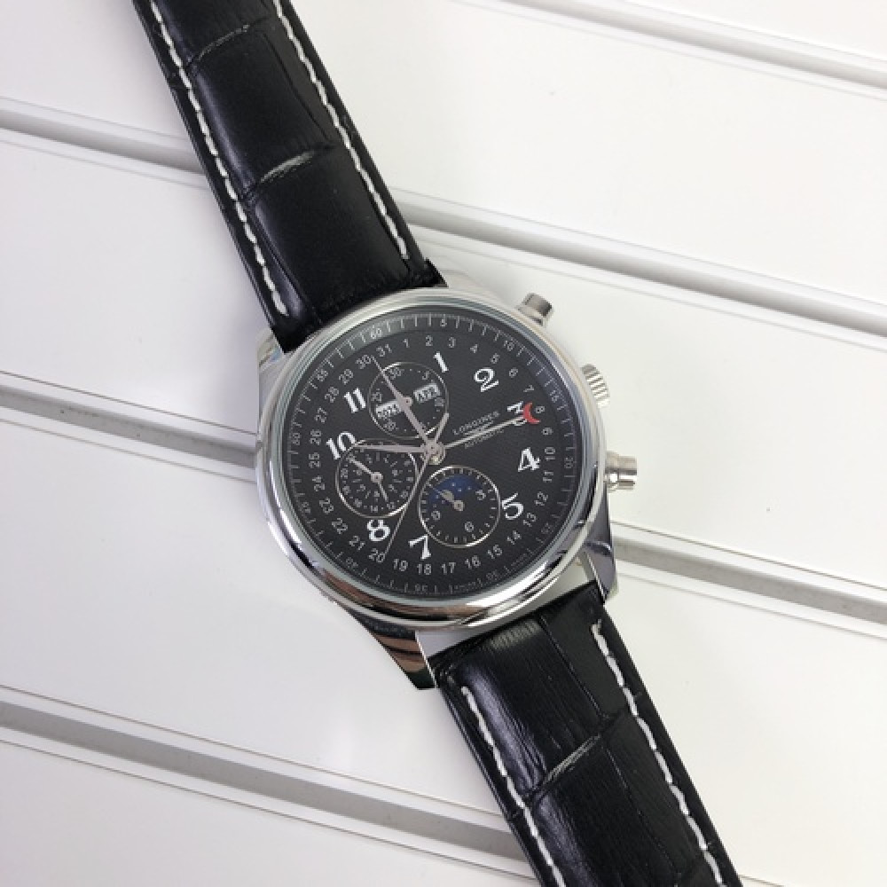 Longines Collection Moonphases Silver-Black