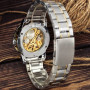 Winner 8012 Automatic Silver-Gold