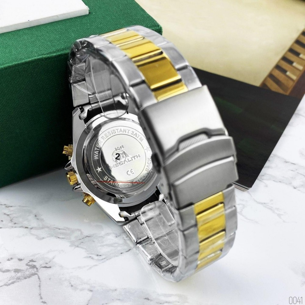 Megalith 8046M Silver-Gold-Blue