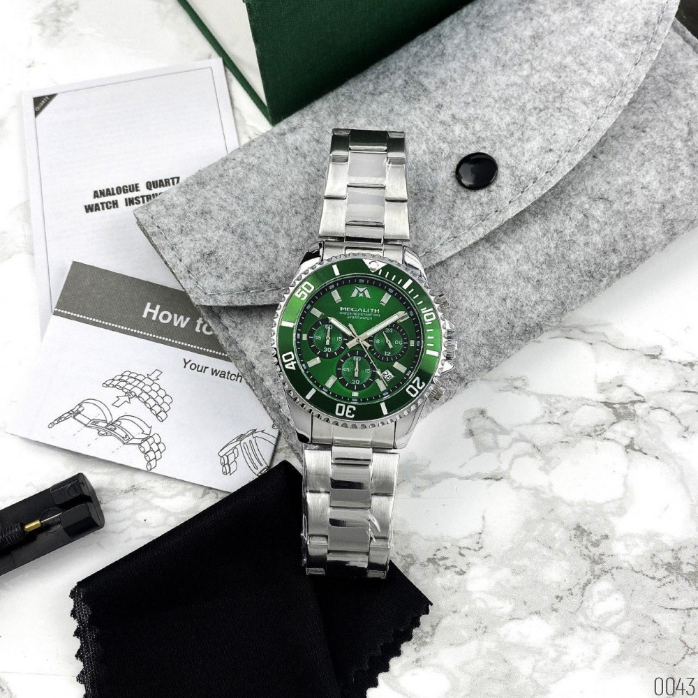 Megalith 8046M Silver-Green