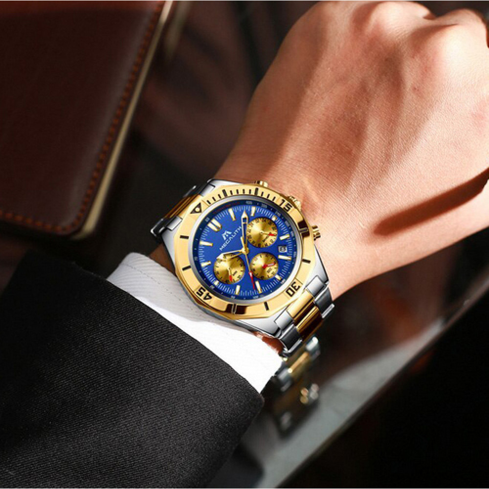 Megalith 8206M Silver-Gold-Blue