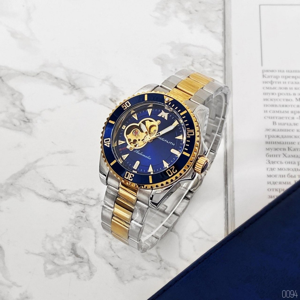 Megalith 8209M Silver-Gold-Blue
