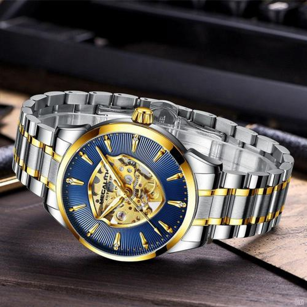 Megalith 8210M Silver-Gold- Blue