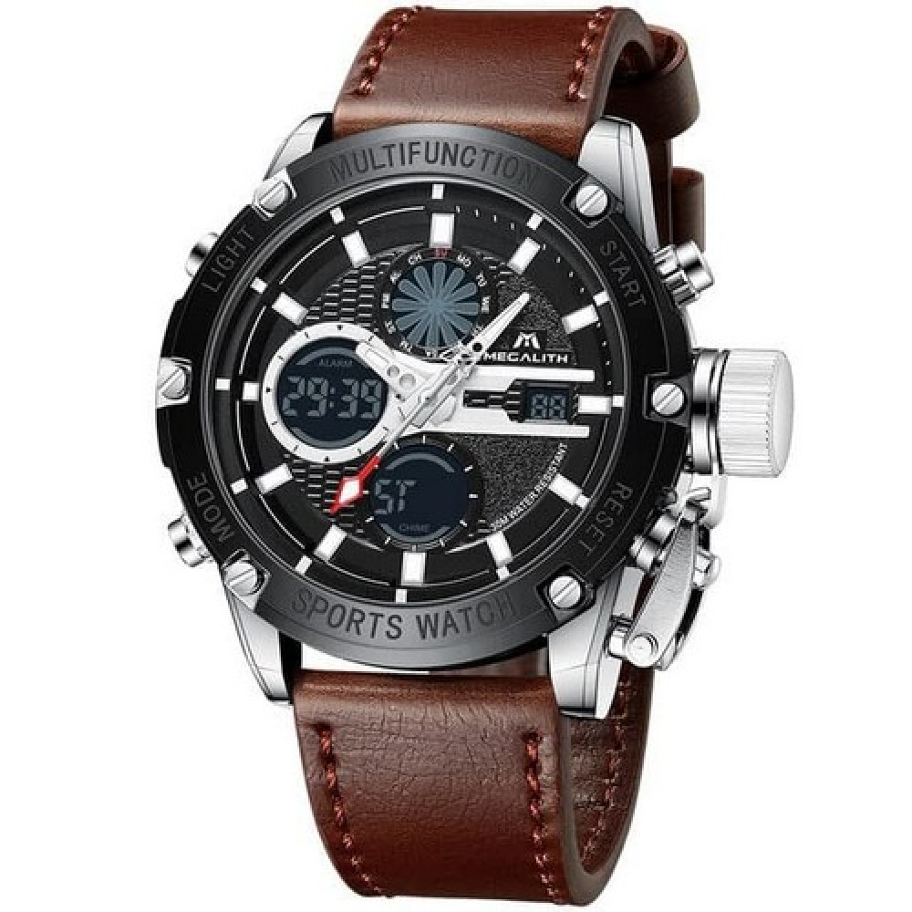 Megalith 8239M Brown-Silver-Black