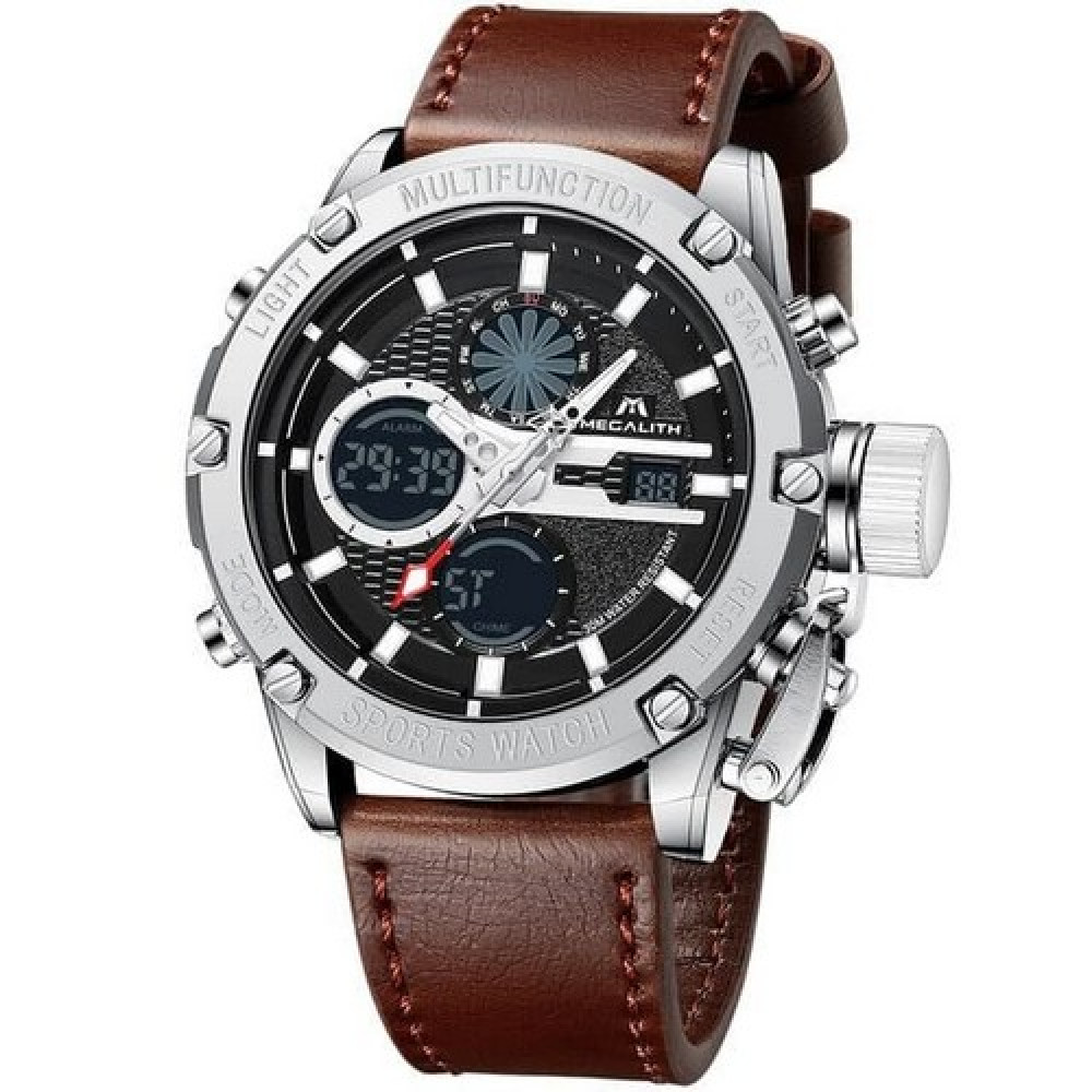 Megalith 8239M Brown-Silver
