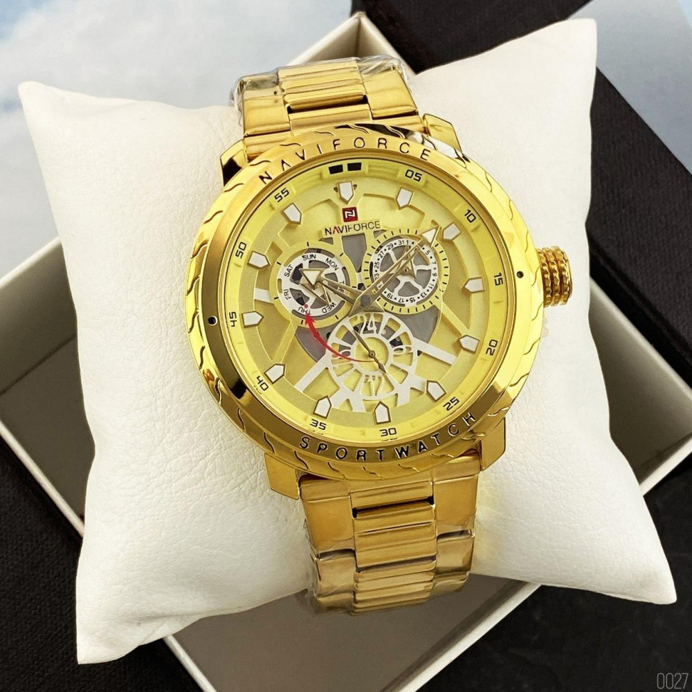Naviforce NF9158 All Gold