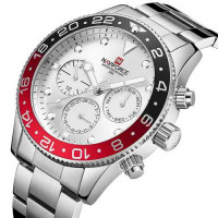 Naviforce NF9147 Silver-White-Red