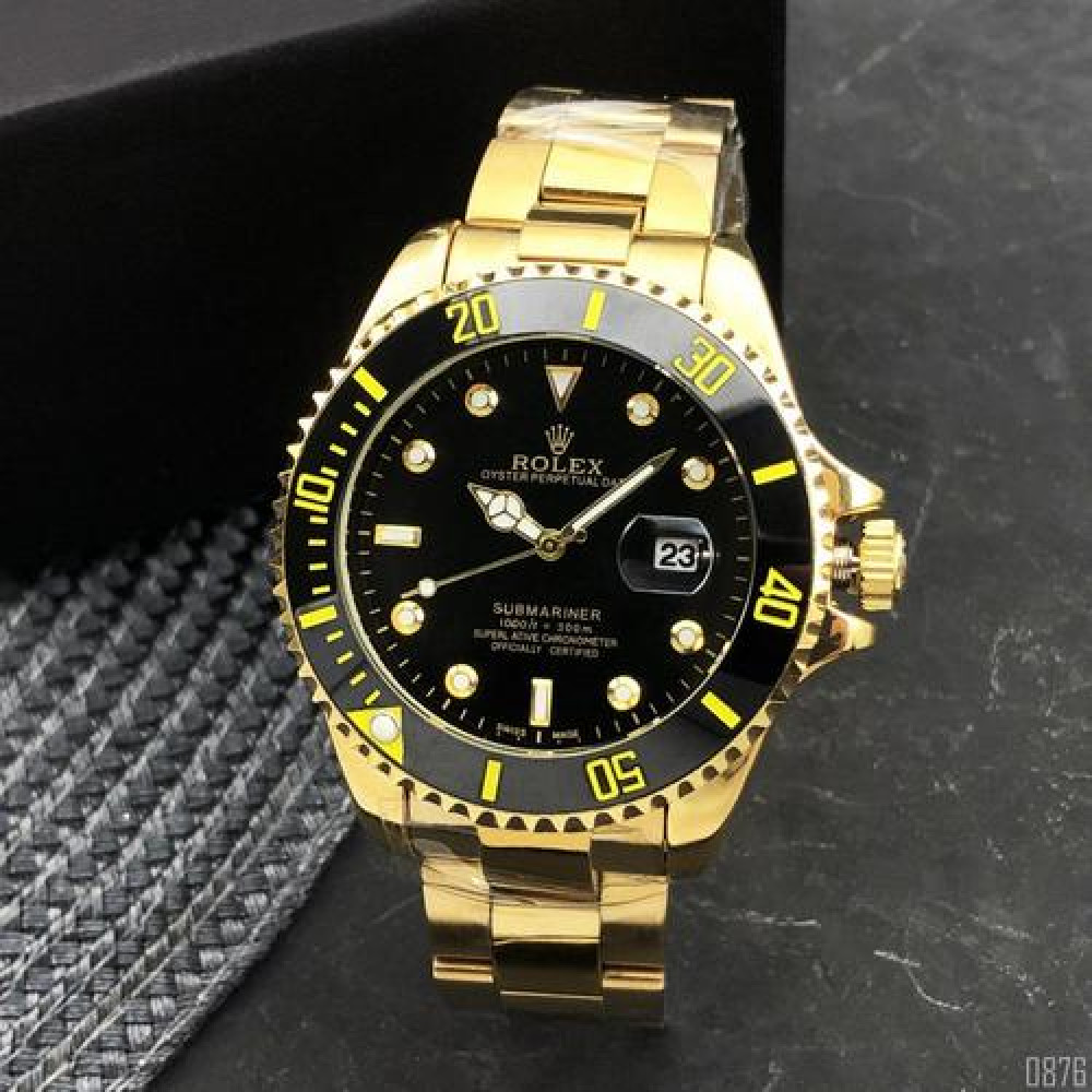 Rolex Submariner  Automatic AA Gold-Black