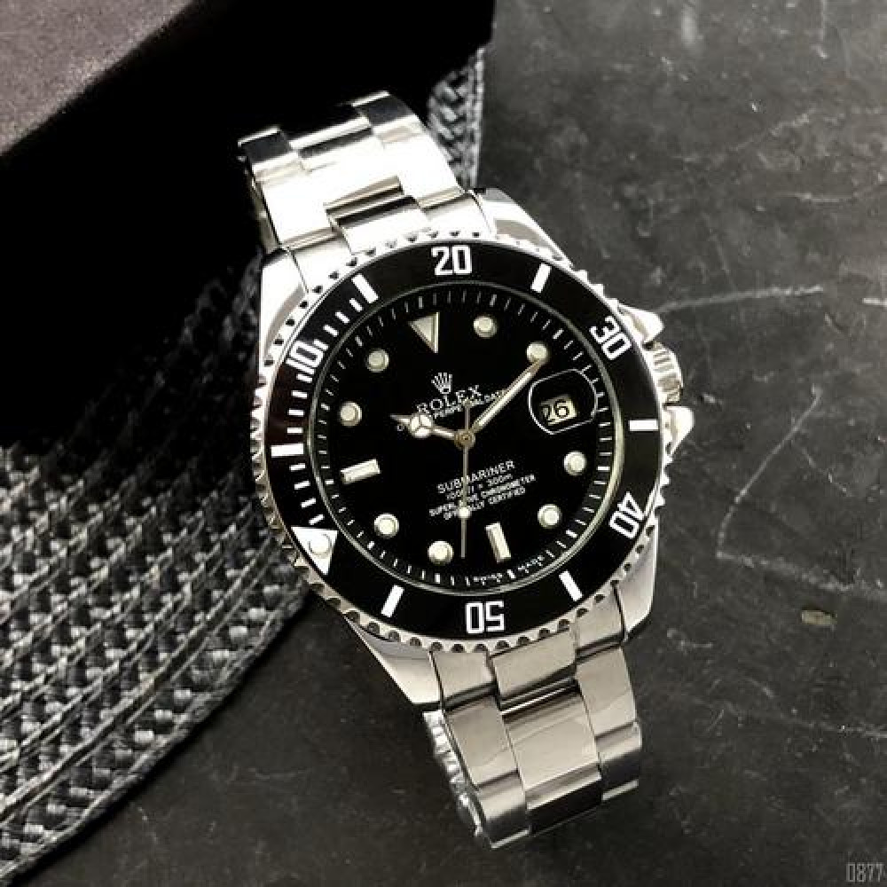 Rolex Submariner  Automatic AA Silver-Black
