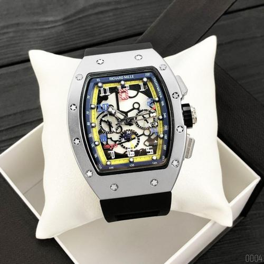 Richard Mille Automatic Silver-Black