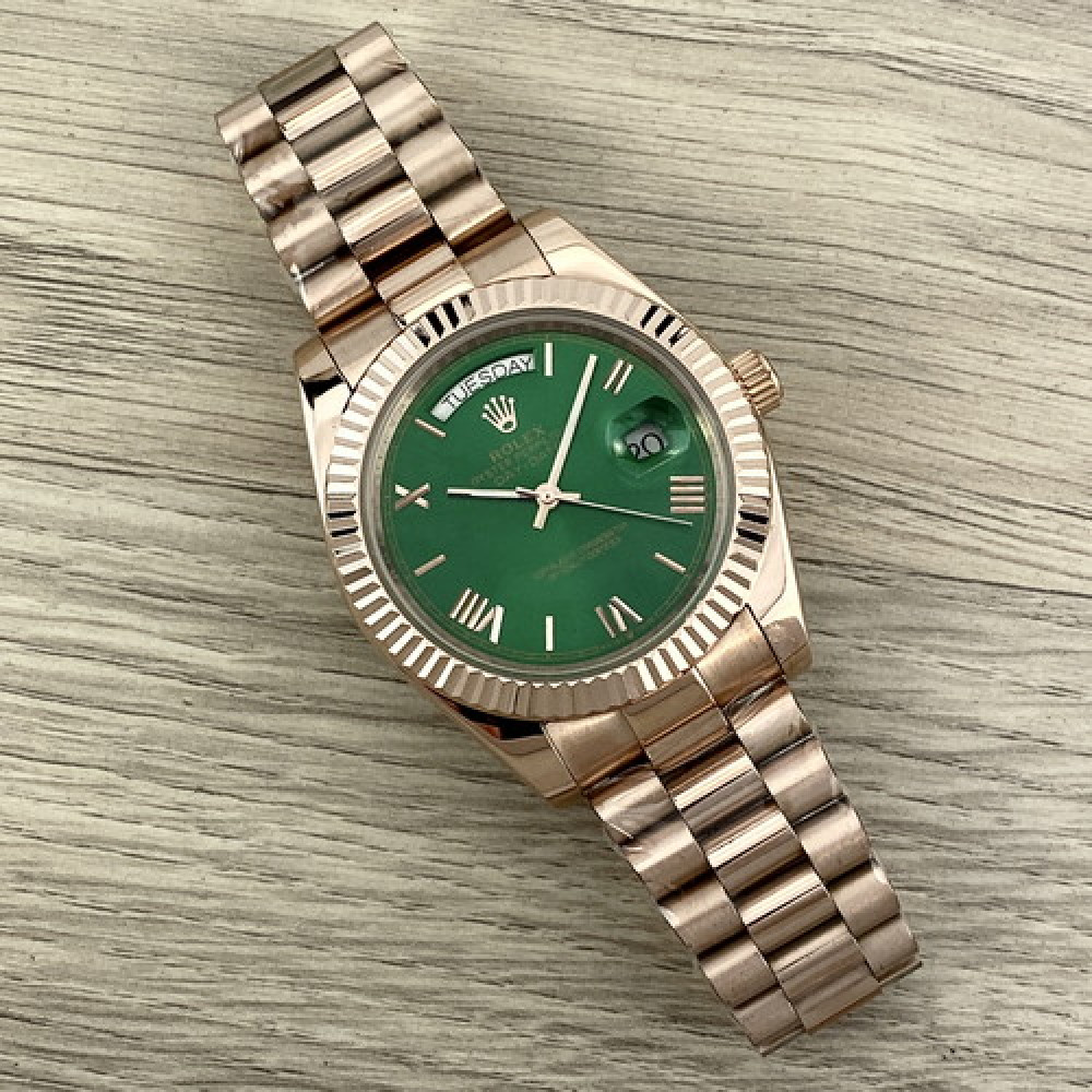 Rolex Day-Date Automatic Gold-Green