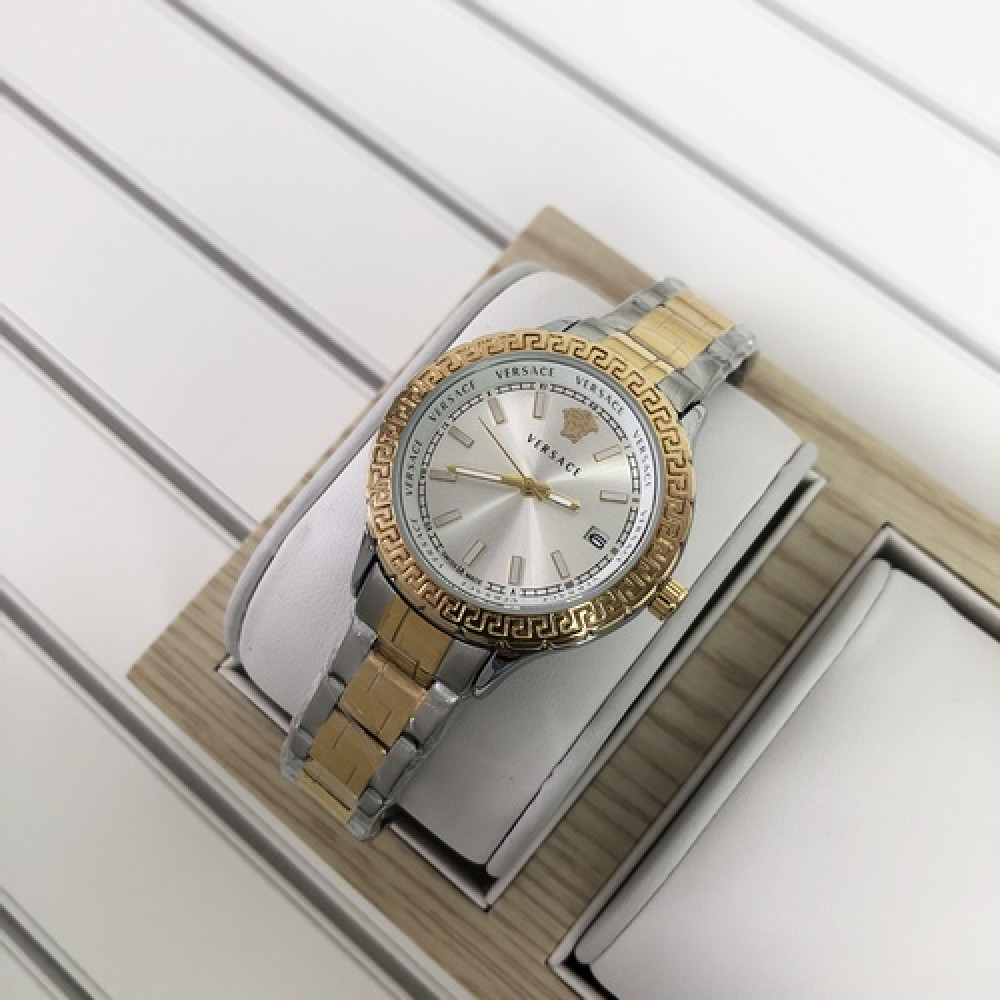 Versace 3104 Silver-Gold Small