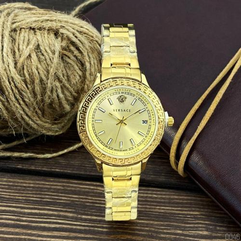 Versace 3104 All Gold Small