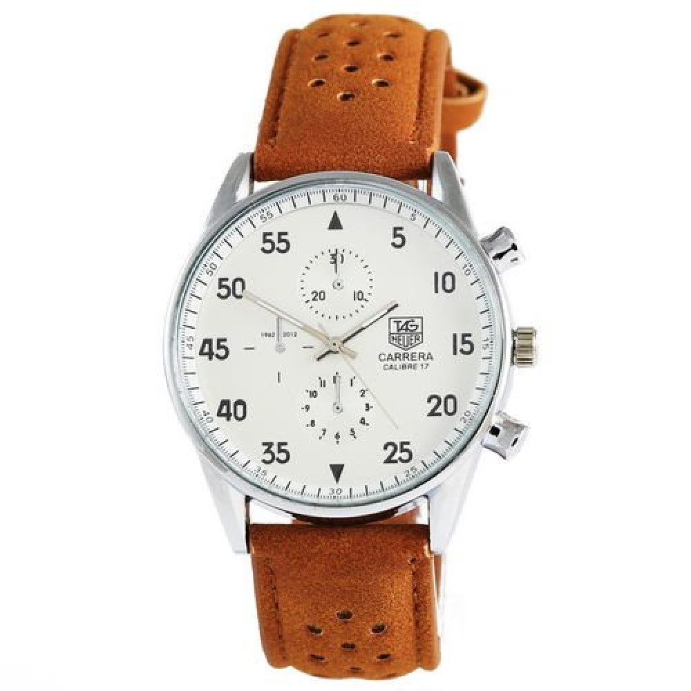 TAG Heuer Carrera SpaceX Кварц Silver/White CL